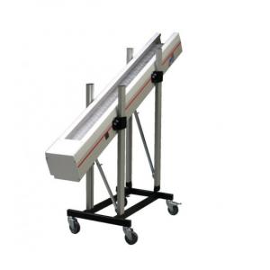 Steel hinged plate conveyors